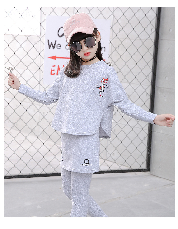 HTB1AO1uSFXXXXanXVXXq6xXFXXX6 - 2017 Baby Clothing Set Autumn Baby Girls Clothes Long Sleeve T-Shirt+Pants 2Pcs Suits Cartoon Children Spring Solid 6-15T O-Neck