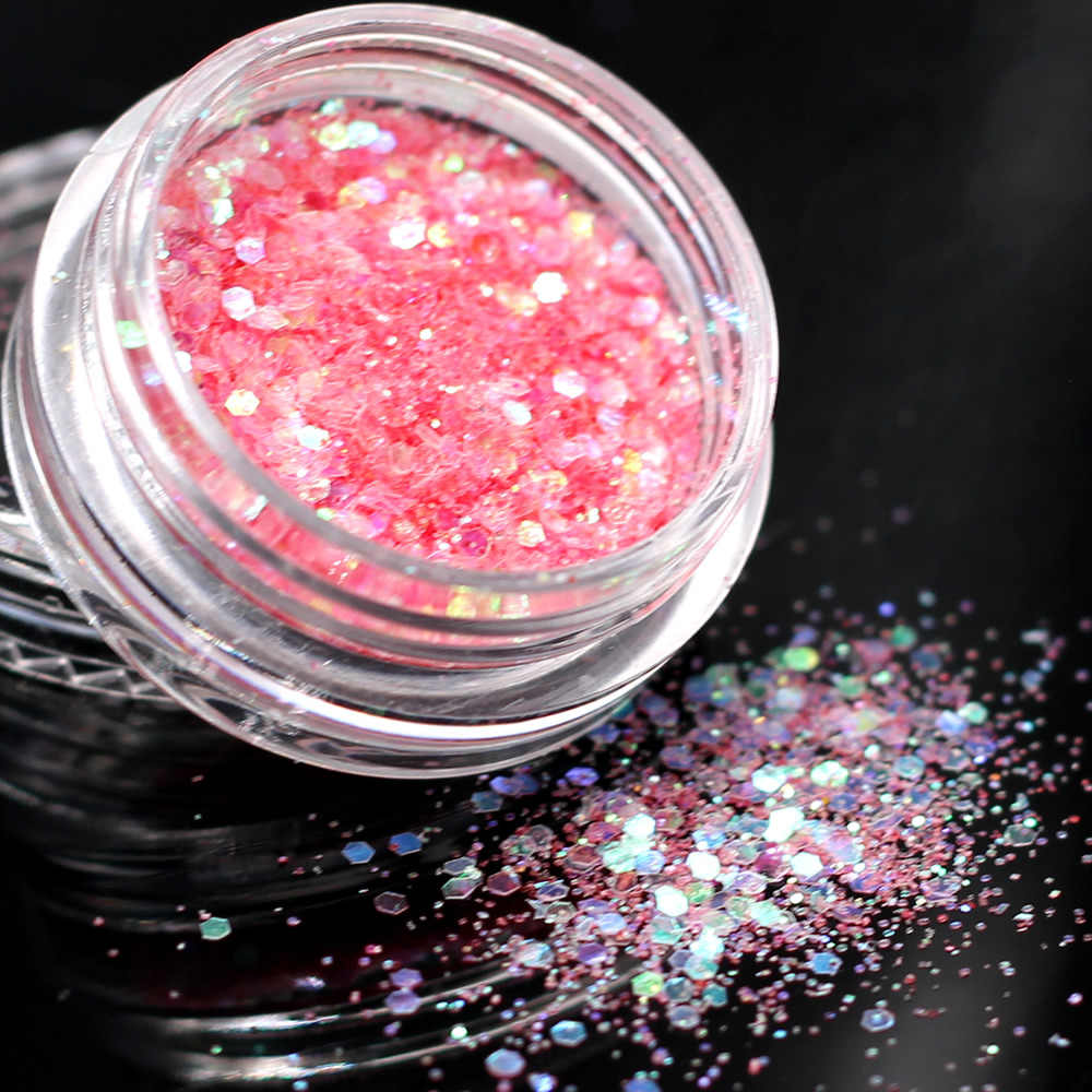 1 Doos Laser Goud 12 Kleuren Optionele Monochrome Eye Powder Shadow Vrouwen Beauty Eye Make Up Shining Glitter Poeder Make-Up palet