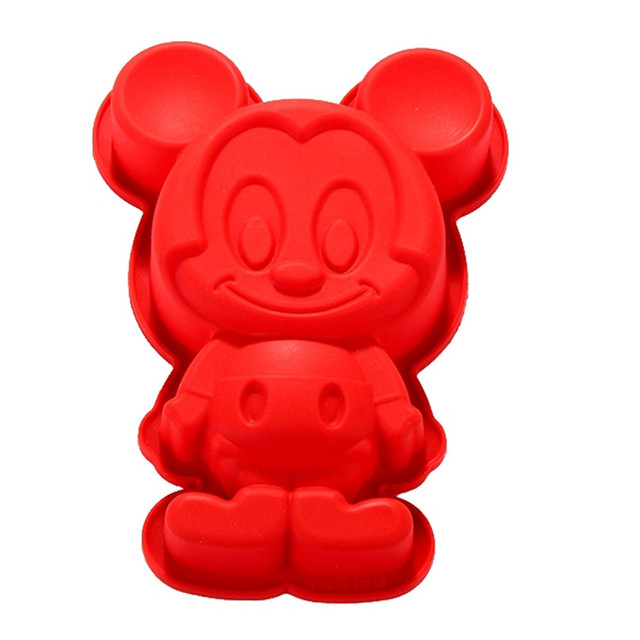 Sweet DIY Cartoon Mickey Mouse Cake Molds Animal Silicone Mold Cake  Decorating Tools Cake Mould Kitchen