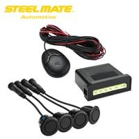 100% Original Steelmate Ebat C1 4 Sensores Assistente De Estacionamento Sensores de Radar Reverso Sistema de Alerta com Externo Buzzer Speaker