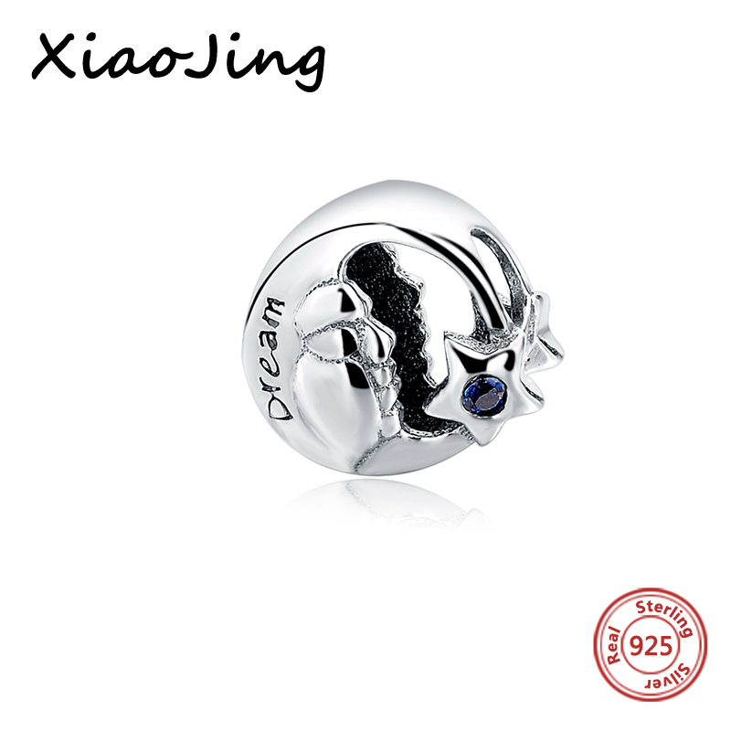 Fit pandora charm silver 925 original Bracelets DIY pendant 12 Constellation Charms star beads for Jewelry Making women gifts