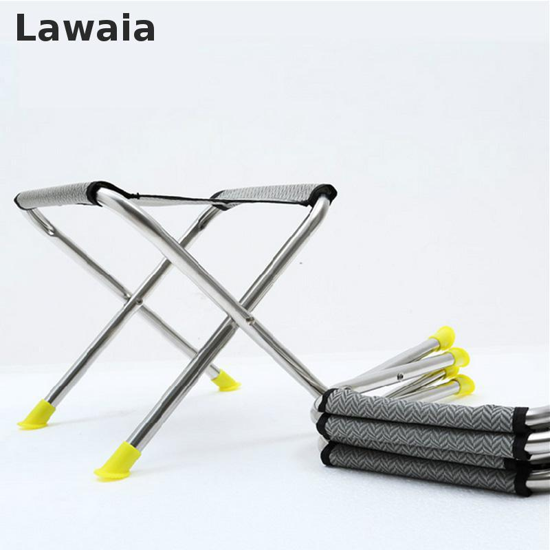 Lawaia Fold Fishing Chair Stainless Steel Portable Chair