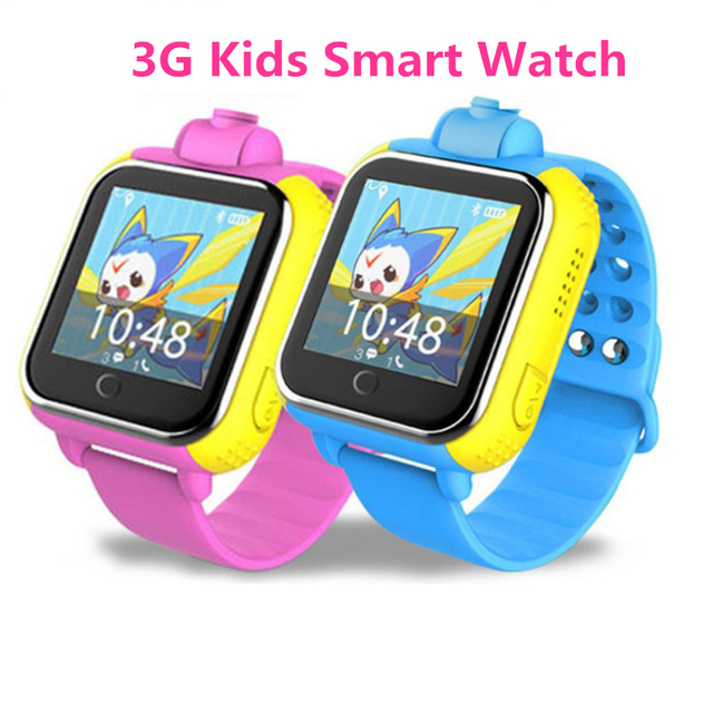 c282bbf9da 3G Chiamata di Telefono di GPS Inseguitore Intelligente Orologio Per Bambini  3G Gomma Intelligente Della Vigilanza