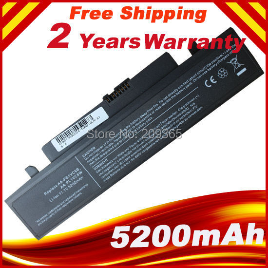 New 6CELLS Laptop Battery For Samsung NB30 N210 N220 N230 X418 X420 X520 Q330 NP-NB30 NP-N210 NT-N210 FREE SHIPPING