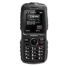 Wodoodporny telefon wytrzymały telefon komórkowy-RugGear RG100 Odblokowany wojskowy telefon komórkowy