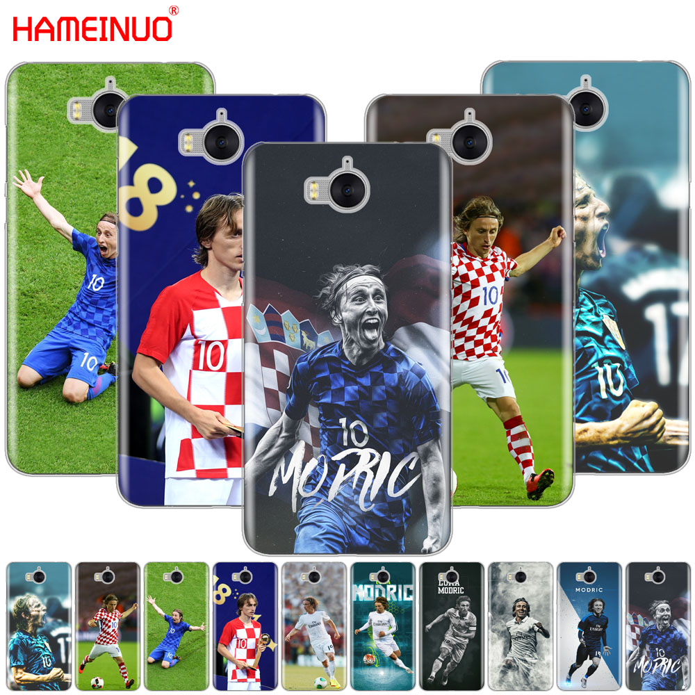 Half-wrapped Case Qualified Hameinuo Footballer Luka Modric Cell Phone Cover Case For Huawei Honor 3c 4x 4c 5c 5x 6 7 Y3 Y6 Y5 2 Ii Y560 2017 Hot Sale 50-70% OFF Phone Bags & Cases