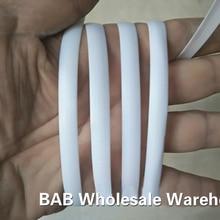 500 г белый плоский синтетический ПЭ ротанг ткацкий материал пластик ротанг для вязания и ремонта стул стол, корзина для хранения, и т. Д