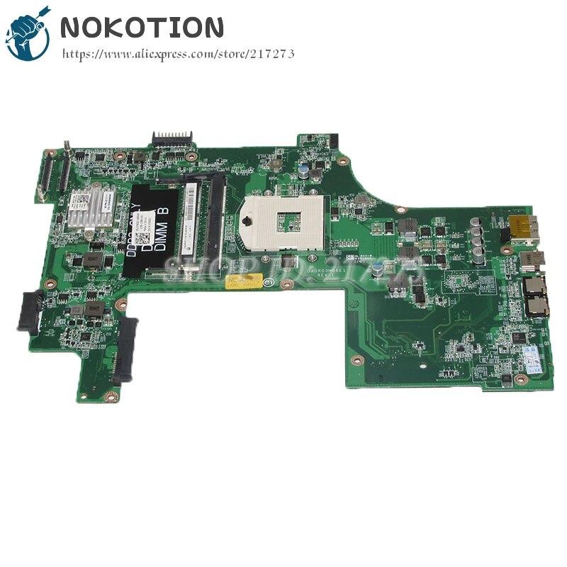 NOKOTION DA0R03MB6E1 CN-07830J 07830J 7830J Laptop Motherboard For Dell Inspiron 17R N7110 Main Board HM67 DDR3
