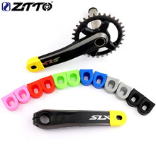 ZTTO MTB Road Bike Crank Protector Carbon Crankset Silicone Gel Cover Protective Sleeve Bicycle Boots 2pcs Accessories 3