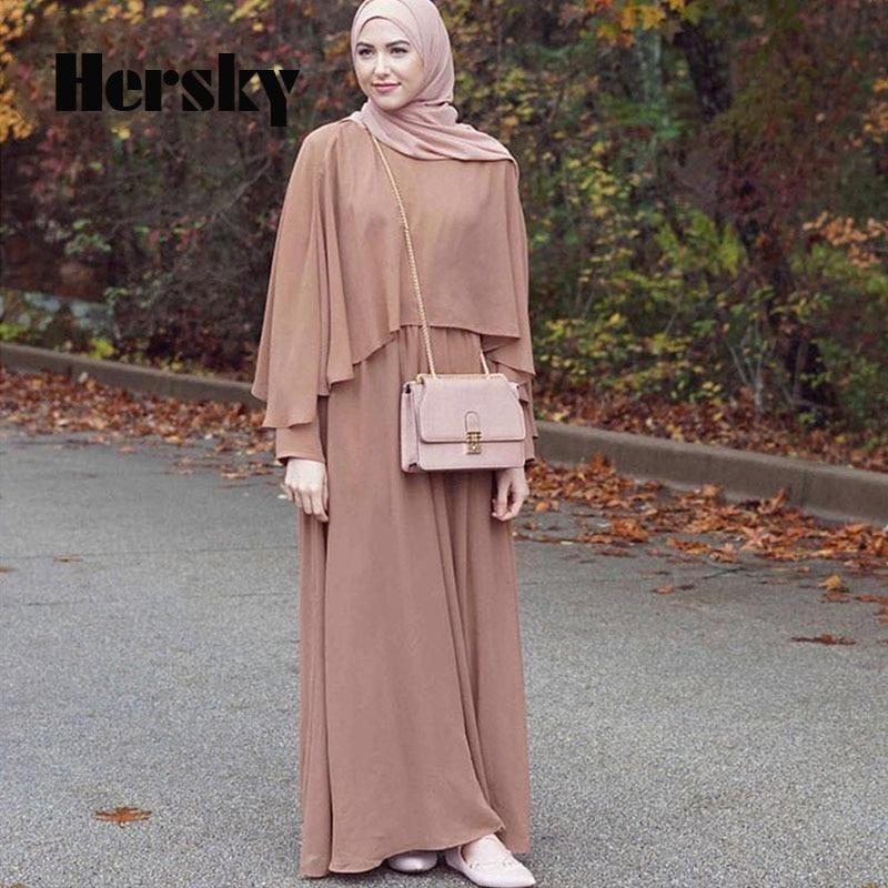 77ffd0779 Moda de verano del Cabo estilo Dubai Abaya mujeres turcas ropa musulmanes  vestido islámico cóctel señoras de manga larga Vintage vestidos en Ropa  islámica ...