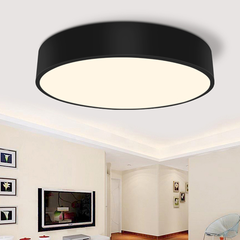 Modern Minimalism LED Ceiling Light round Indoor LED light Ceiling Lamp creative personality study dining room balcony lamp