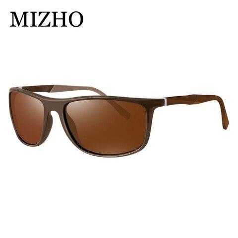 MIZHO 18g Ultralight Aluminum Leg UVA Polaroid Sunglasses Men Vintage Eyewear Accessories Brand Polarized Sunglasses Women 2019 Karachi