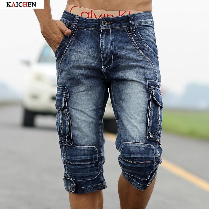 Popular Denim Cargo Shorts-Buy Cheap Denim Cargo Shorts lots from ...