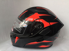 Brand GXT Flip Up Motorcycle Helmet Double lens full face helmet High quality