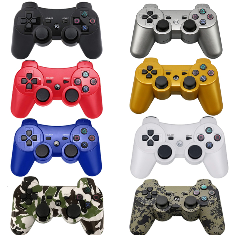 For SONY PS3 Controller Bluetooth Gamepad for PlayStation 3 Joystick Wireless Console for Sony Playstation 3 SIXAXIS Controle PC for sony ps3 controller bluetooth gamepad for playstation 3 joystick wireless console for sony playstation 3 sixaxis controle pc