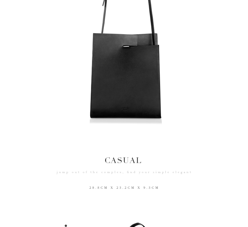 2018 New Women Tote Simple Fashion Female Sling Bag Genuine Leather (6)