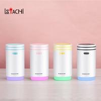 LSTACHi Multi functional USB Humidifier Mini Portable Aroma Diffuser Evaporative Essential Oil Diffuser With Fan Light Office