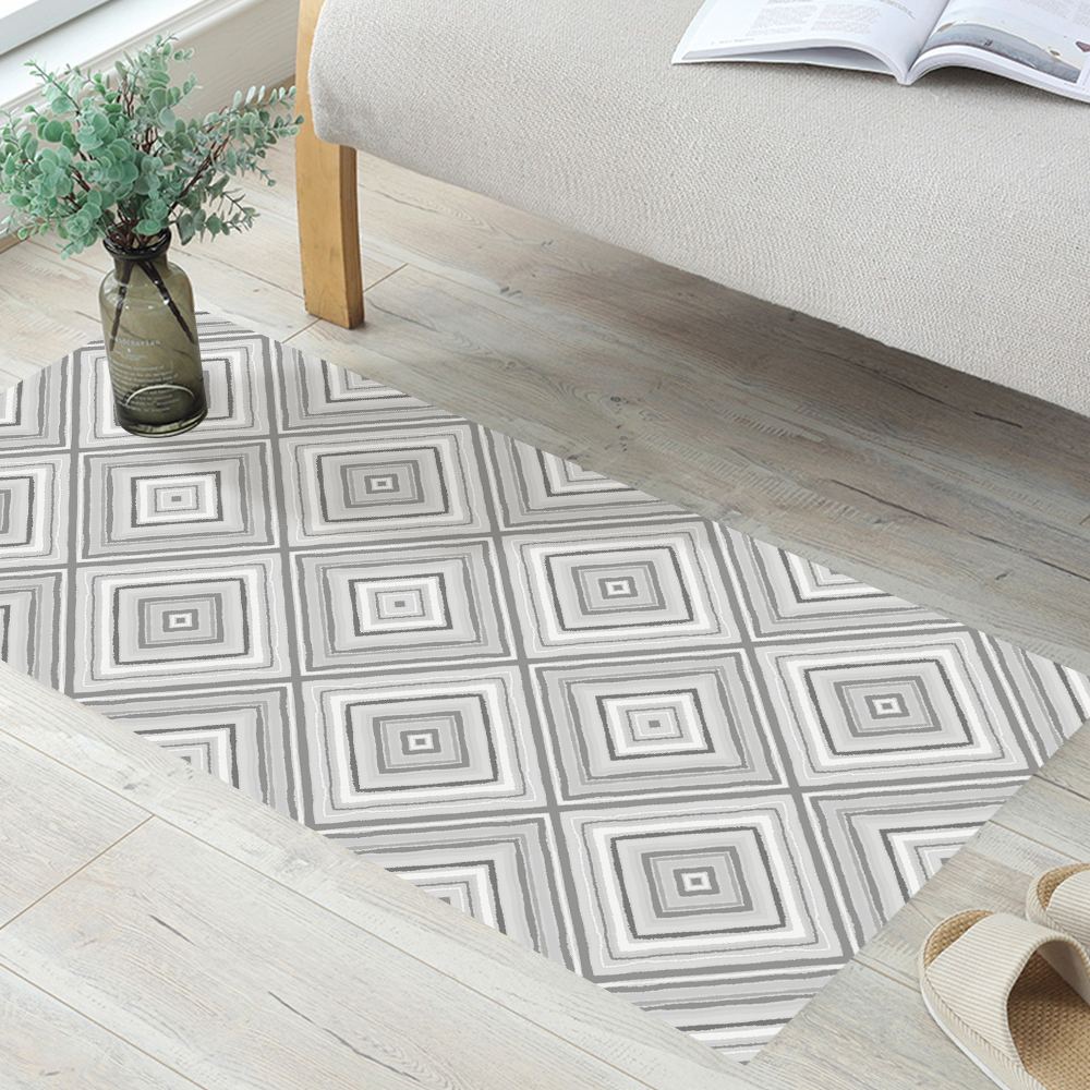 Funlife Hotels Removable Geometrics Floor Stickers Art Wall Tile