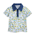 Little maven Brand Baby Boy T shirt Short Sleeve Turn Down Collar Baby Boy Tops Summer Cotton Kids Polo Shirt Baby Tees 1-6 Yrs