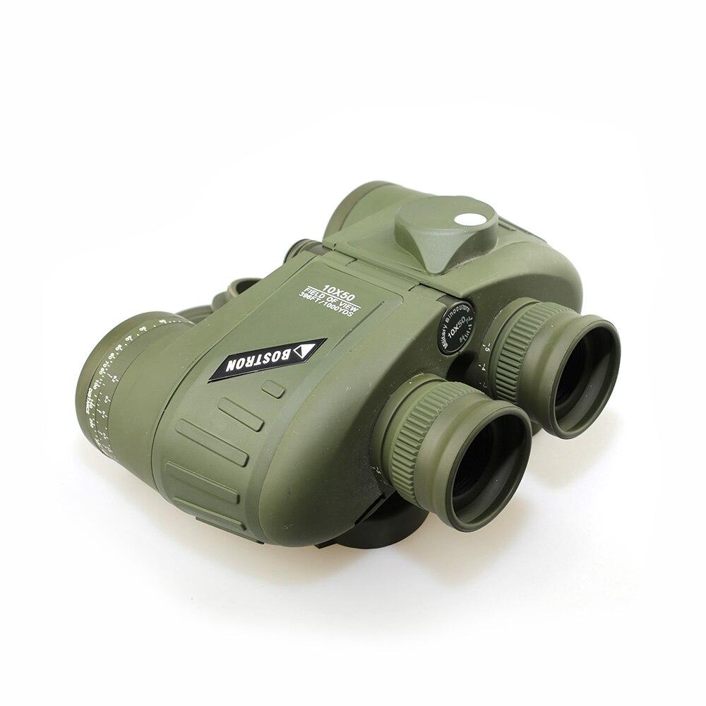 SPINA optique jumelles militaires 10x50 zoom télescope étanche anti-buée télémètre oculaire étanche pour la chasse