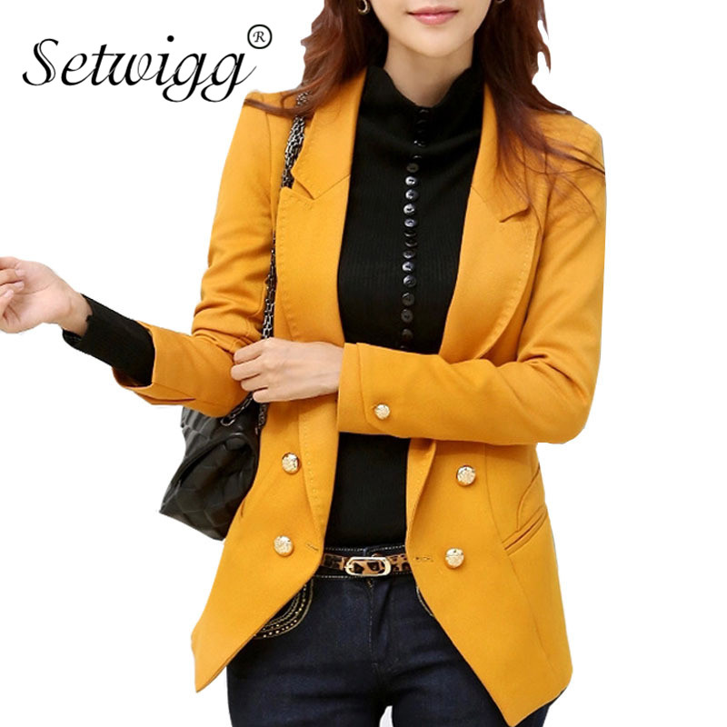 Compare Prices on Mustard Blazer for Women- Online Shopping/Buy ...