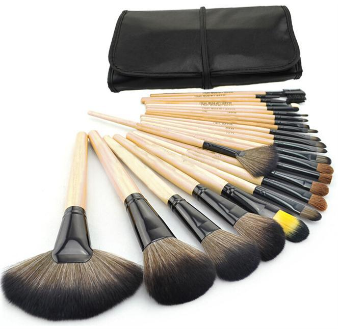 24pcs Makeup Brushes Set Professional Makeup Brushes & Tools Kit of cosmetic...