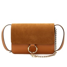 Women's Shoulder bag messenger bag Pure color Lattice chain Fashion trends female high quality inclined shoulder bag
