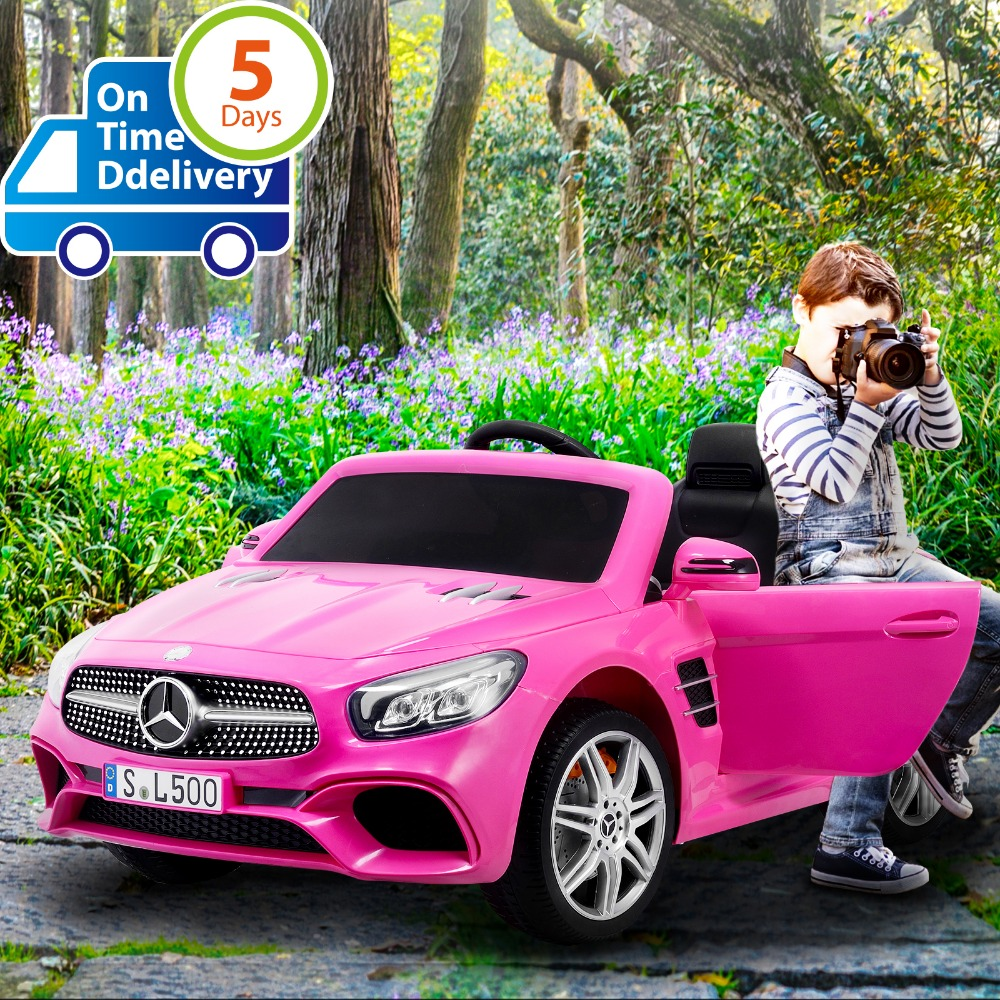 Uenjoy 12V Licensed Mercedes-Benz SL500 Kids Ride On Car Single Seat Electric Cars for Kids w/Remote Control & Music & Spring ..Uenjoy 12V Licensed Mercedes-Benz SL500 Kids Ride On Car Single Seat Electric Cars for Kids w/Remote Control & Music & Spring ..