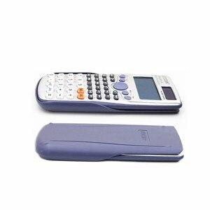 Image 3 - Фирменная Новинка FX 991ES PLUS оригинальный научный калькулятор 417 функции для старшей школы Университета студенты офис монета батареи