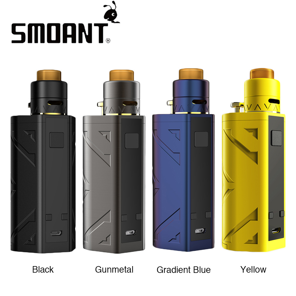 Original 200W Smoant Battlestar TC Squonker Kit 7ML Box Mod & Battlestar Squonker RDA Electronic Cigs Vape Kits No 18650 Battery