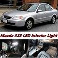 4 pcs X frete grátis Livre de Erros LED Interior Luz Kit Pacote para Mazda 323 acessórios 2014-2016