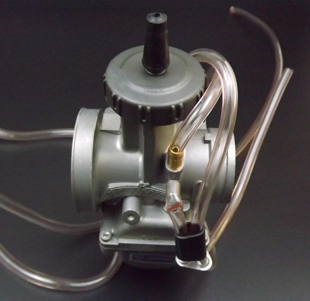 Universel Quad Vent Carb PWK 36 38 40mm PWK38 COMME/S66 38mm AIR ATTAQUANT pour KEIHIN CARBURATEUR POUR TRX250R CR250 LT250 - 4