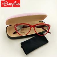 New Designer Hot Women Ladies Cat Eyes Glasses Frame Retro Fashion Cat Eyes Sunglasses 5 Colors