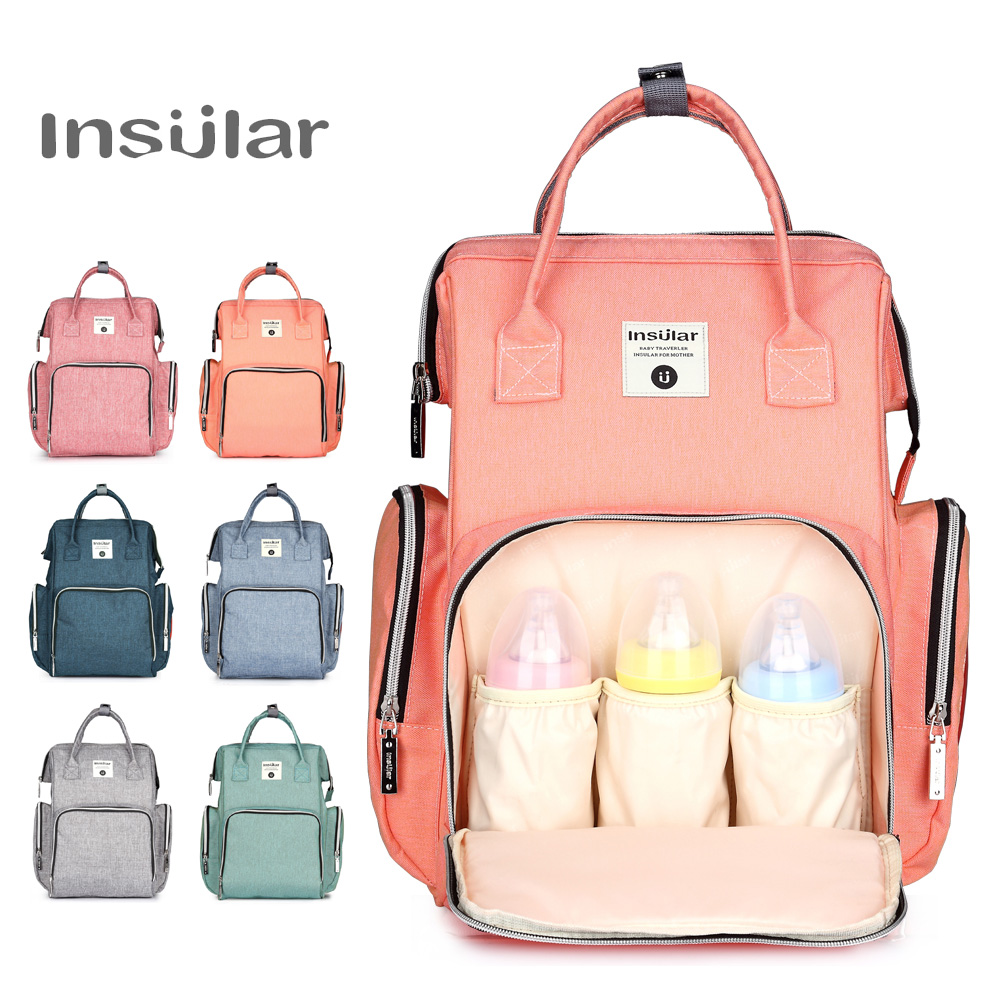 a58b29ecd8d0 US $24.99 |Travel Baby Bags For Mom Diaper Bag Backpack Nappy Maternity  Mummy Bag Large Capacity Multifunction Outdoor -in Diaper Bags from Mother  & ...