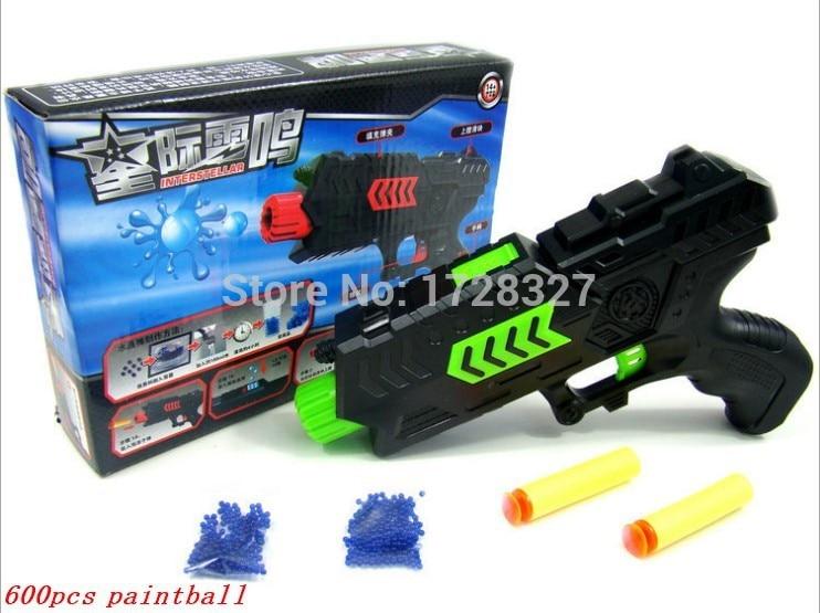 Paintball բյուրեղներ Gun ատրճանակ և փափուկ փամփուշտ հրացան Պլաստիկ խաղալիքներ CS Խաղ Կրակոցներ Cryրային բյուրեղյա հրացան նետաձգություն Air Soft gun Airgun