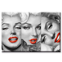 Classic Monroe Poster Series Wall Art Oil Painting On Canvas Printed Pictures Decor painting large living room Wholesal