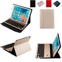 Smart Wireless Bluetooth 3.0 Keyboard Foldable Case Stand Cover Holder for iPad Air 1 / 2 / Pro 9.7 inch Tablet PC Keyboard