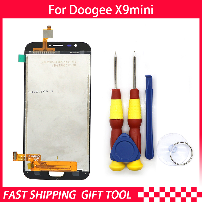 New original Touch Screen LCD Display LCD Screen For Doogee X9 mini Replacement Parts + Disassemble Tool+3M AdhesiveNew original Touch Screen LCD Display LCD Screen For Doogee X9 mini Replacement Parts + Disassemble Tool+3M Adhesive