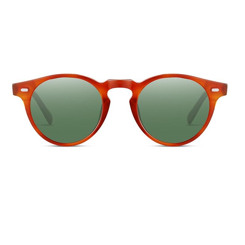 Поляризационные солнцезащитные очки, Винтажные Солнцезащитные очки для женщин и мужчин OV5186 Gregory Peck, маленькие круглые солнцезащитные очки