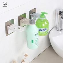 Luluhut दीवार घुड़सवार जेल हुक शैम्पू बोतल फांसी धारक मजबूत निर्बाध हुक हाथ sanitizer रैक हैंगर सहायक उपकरण