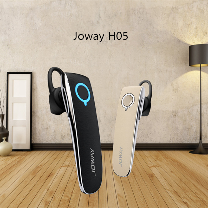 Joway H05 Stereo Bluetooth Headset Smart Business Style Leather car Earphone With MIC for All Smart phones fone de ouvido headset 4 1 wireless bluetooth headphone noise cancelling sport stereo running earphone fone de ouvido for xiaomi iphone huawei