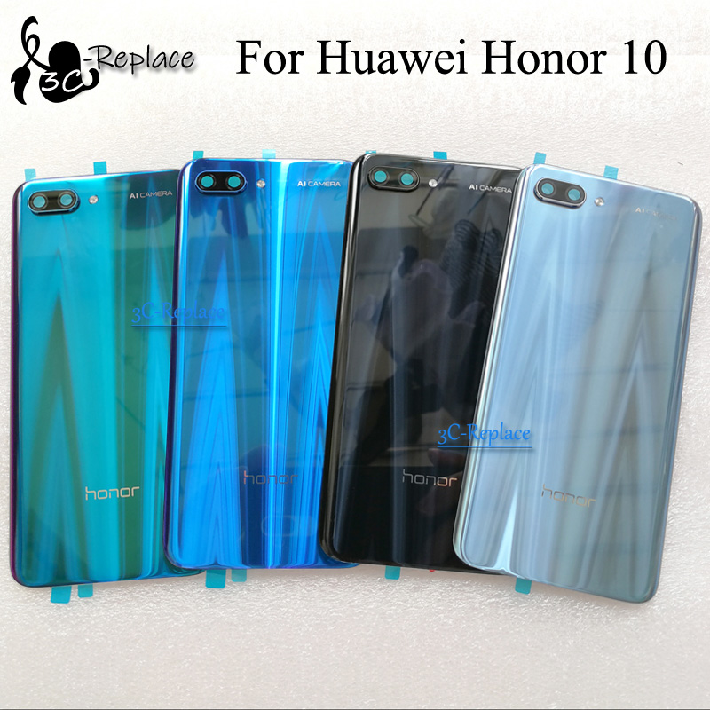 Cover Honor Huawei Door-Housing-Case Glass-Parts Back-Battery for Honor/10-col-al00/Col-al10/..