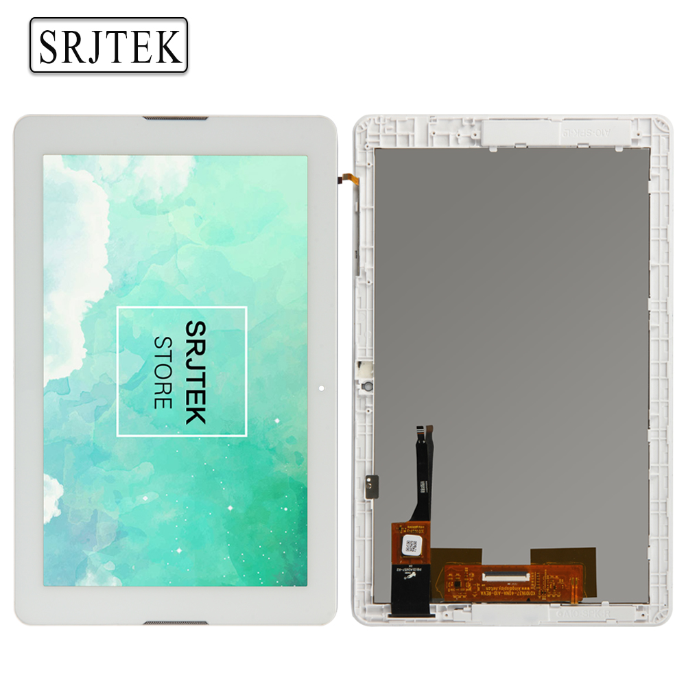 Srjtek LCD display Matrix For Acer Iconia One 10 B3-A20 A5008 LCD Screen Touch Screen Digitizer Tablet PC Assembly with Frame for acer iconia one 7 b1 750 b1 750 black white touch screen panel digitizer sensor lcd display panel monitor moudle assembly
