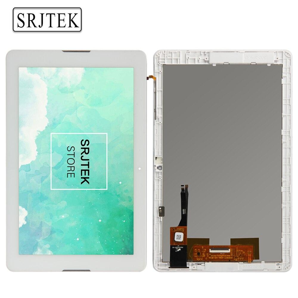 Srjtek LCD de Matriz Para Acer Iconia Uno 10 B3-A20 A5008 Pantalla LCD Asamblea Digitalizador de Pantalla Táctil Tablet PC con marco