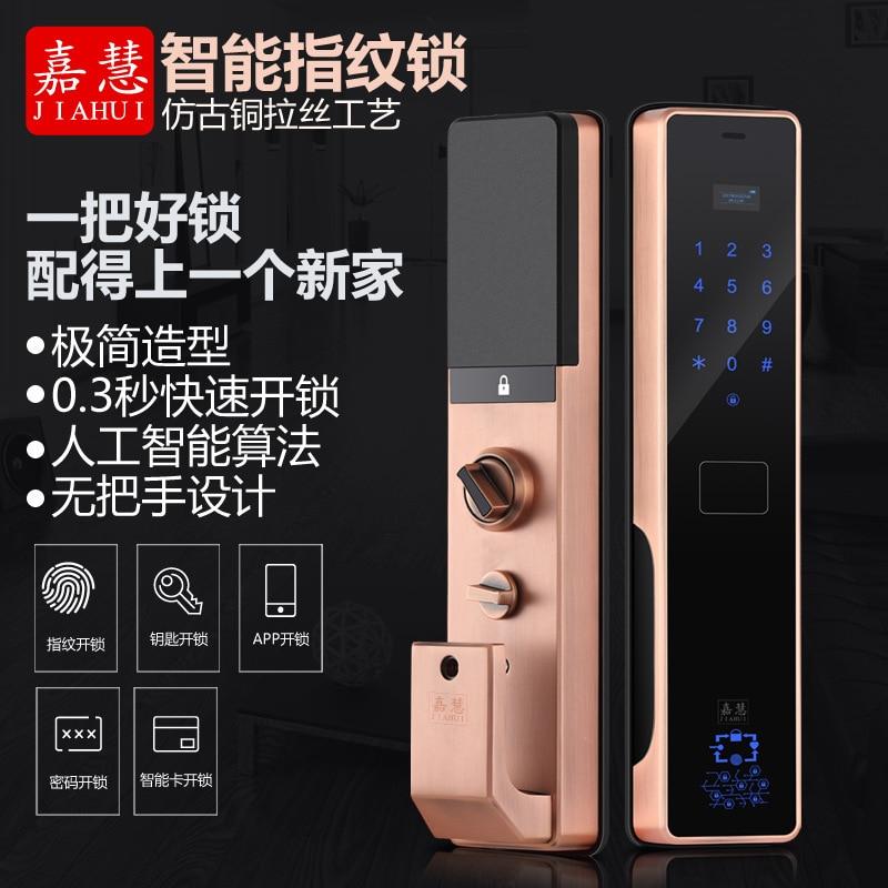 2018 Fechadura Digital Padlock Home Security Door, For Intelligent Lock, Password Electronic Fingerprint Identification Lock. цена 2017
