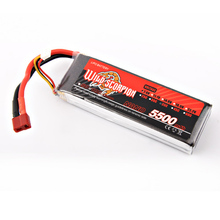 1pcs Wild scorpion RC 7 4V 5500mAh 35C 2S Lipo Battery For RC Quadcopter Drone Helicopter