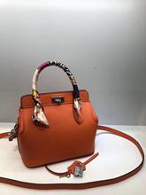 купить Kafunila genuine leather bag for women 2019 high quality famous brand designer crossbody shoulder tote bag clutch bolsa feminina по цене 3767.84 рублей