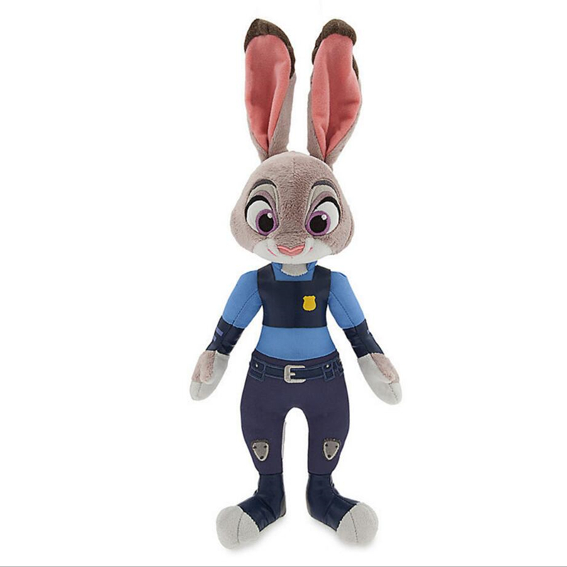 Latest Listing Zootopia Lovely rabbit Judy Plush toy doll 30cm high quality animal Soft Cartoon toy for Baby toys to appease movie zootopia plush toys rabbit judy hopps nick wilde zootopia cotton stuffed plush doll children baby kids toys wj347