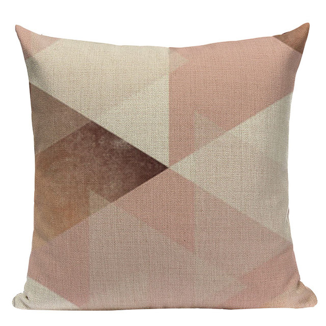 Nordic Pop Geometric Pillowcase Size: L313 Color: L313-19
