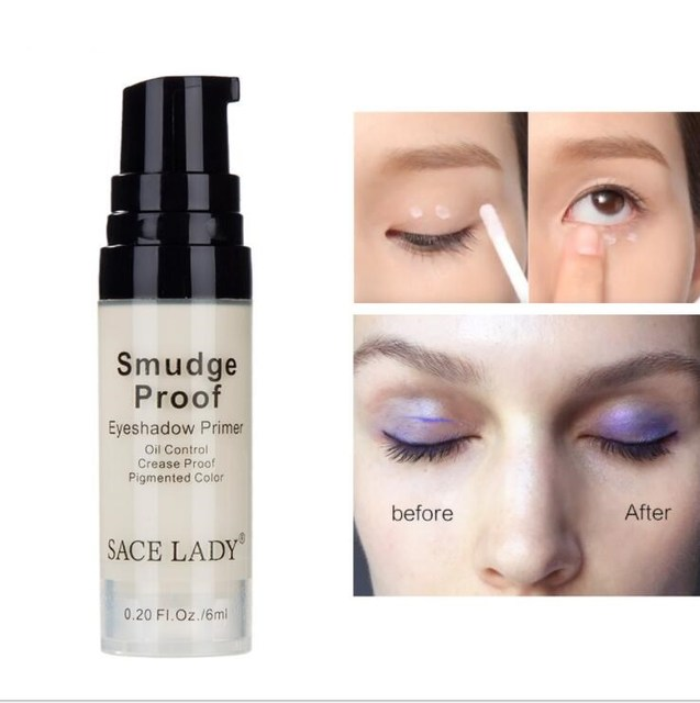 Make Up Oil Control Brighten Long Lasting Cosmetic Eyeshadow Primer Makeup Eye Base Cream Liquid Eye Shadow Primer